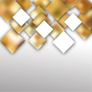 Brown and White Modern Square Abstract Background Design
