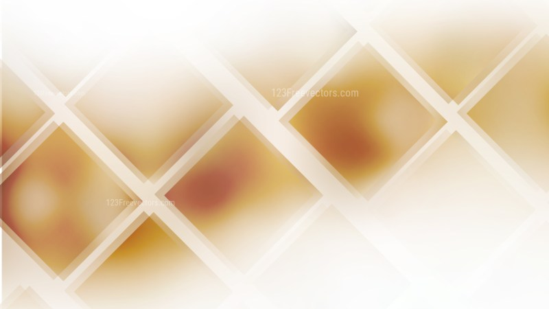 Abstract Brown and White Square Lines Background Design Template