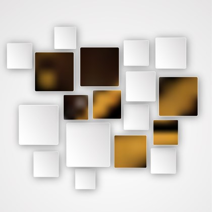Brown Black and White Squares Abstract Background Image