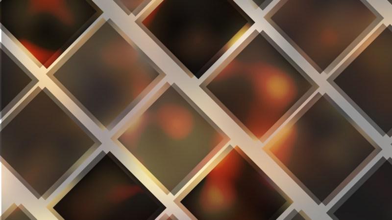 Dark Brown Square Lines Background Vector Illustration