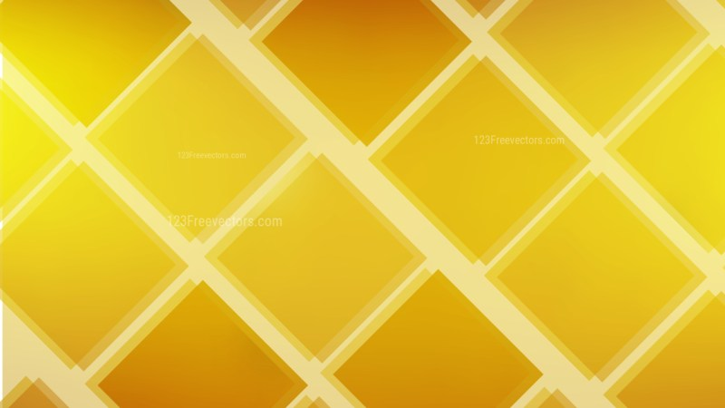Abstract Gold Square Background Illustration