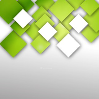 Modern Abstract Green and White Squares Background
