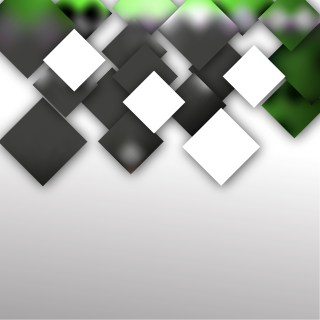 Modern Abstract Green Black and White Squares Background Illustrator