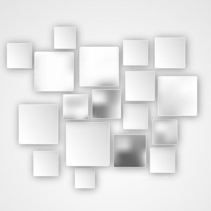 Modern Grey and White Square Background Image