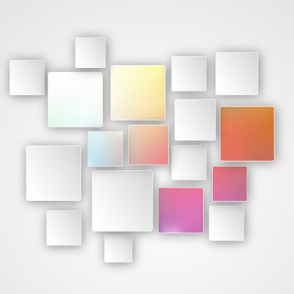 Abstract Light Color Square Modern Background Design Template