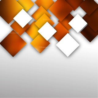 Abstract Orange and White Square Modern Background