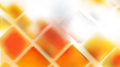 Abstract Orange and White Square Lines Background Illustration