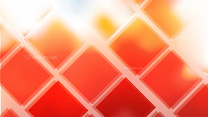 Abstract Orange and White Square Lines Background Vector Image