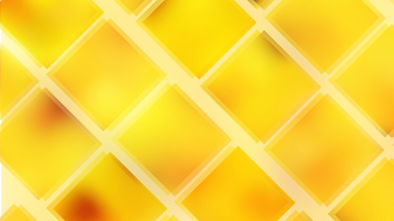 Abstract Orange and Yellow Square Lines Background Illustration