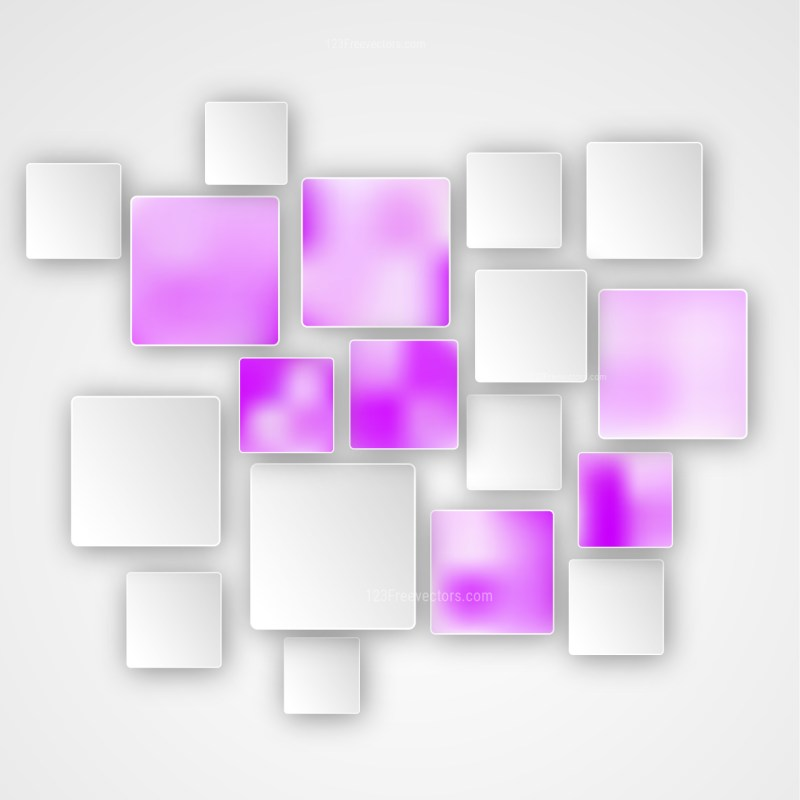 Abstract Pink and White Square Modern Background Image