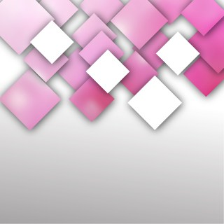 Abstract Pink and White Square Background Illustration