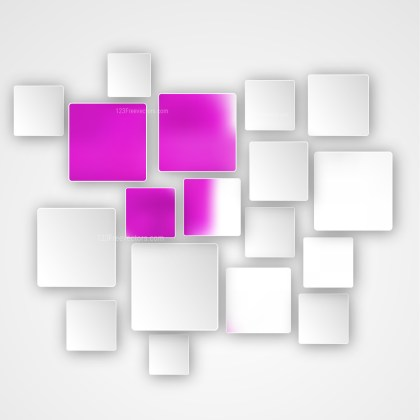 Abstract Pink and White Modern Square Background Design
