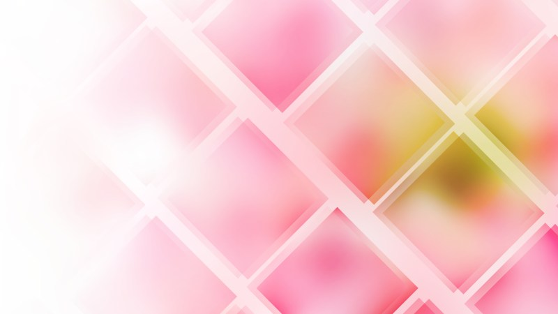 Abstract Pink and White Square Lines Background Design Template
