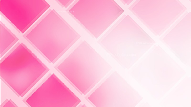Pink and White Square Lines Background Vector Art