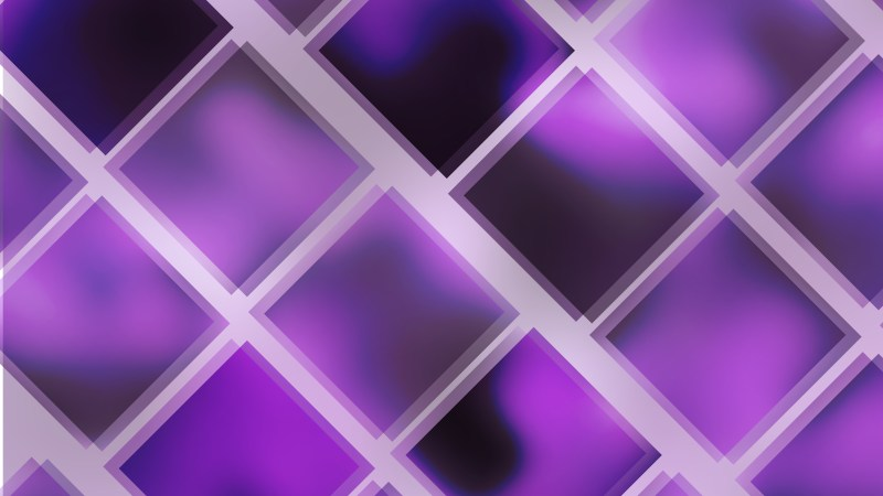 Abstract Purple and Black Square Background