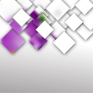 Abstract Purple and White Modern Square Background Design