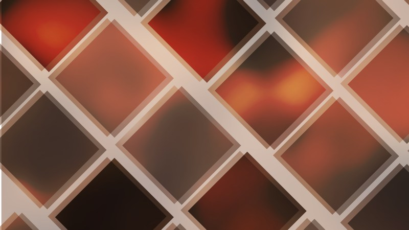 Abstract Red and Black Square Lines Background