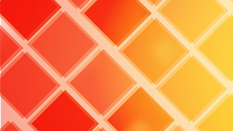 Abstract Red and Orange Square Lines Background