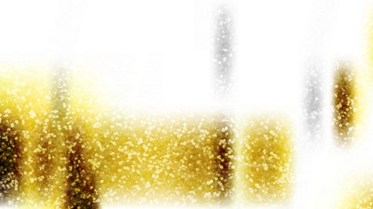 White and Gold Glitter Background