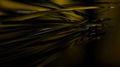 Black and Gold Background Vector Art