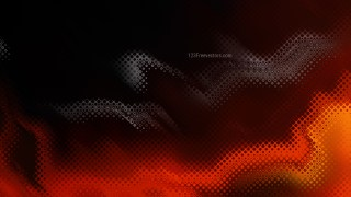 Black Red and Orange Background Design