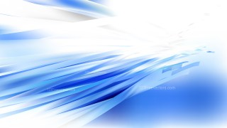 Blue and White Background Vector Illustration