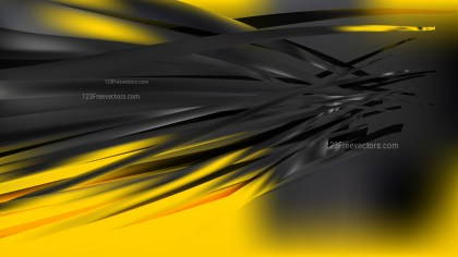 Abstract Cool Yellow Background Illustration