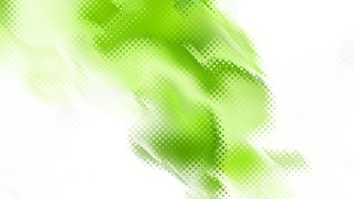 Abstract Green and White Background