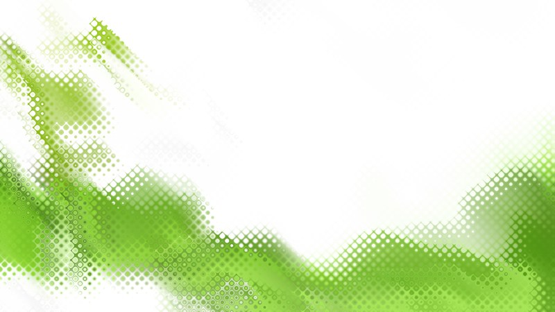 Green and White Background Image