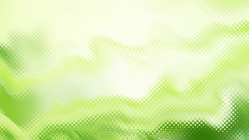 Green and White Background Design