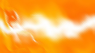 Abstract Orange and White Background Image