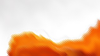Orange and White Background