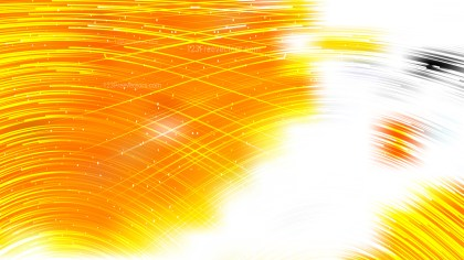 Abstract Orange Yellow and White Background