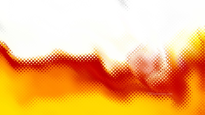 Red White and Yellow Background