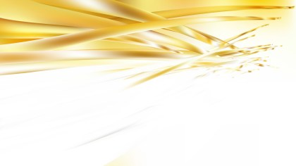 Abstract White and Gold Background Vector Art
