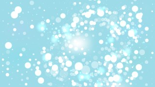 Baby Blue Blurred Bokeh Background Illustration