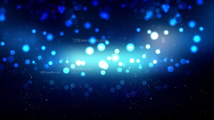 Black and Blue Blurred Lights Background