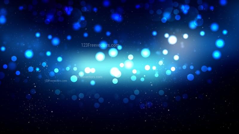 Black and Blue Blurred Lights Background