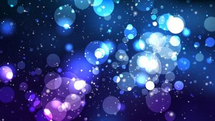 Black and Blue Defocused Background