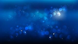 Black and Blue Blurred Bokeh Background Vector Illustration