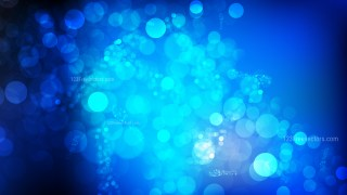 Black and Blue Bokeh Background Graphic