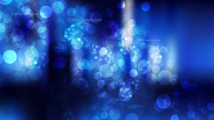 Abstract Black and Blue Defocused Background