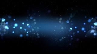 Black and Blue Bokeh Defocused Lights Background Image