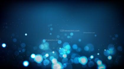 Black and Blue Defocused Lights Background Illustrator