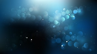 Abstract Black and Blue Illuminated Background