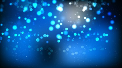 Black and Blue Blurred Bokeh Background Vector Image