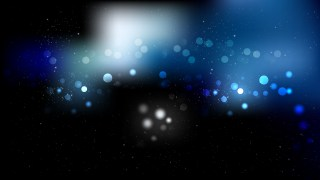 Black and Blue Blur Lights Background Design