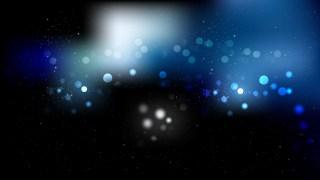 Black and Blue Blur Lights Background Design