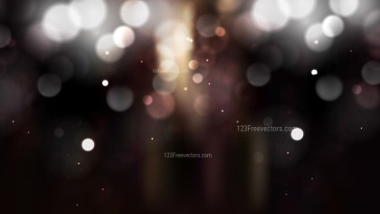 Black and Brown Blurred Lights Background Illustrator