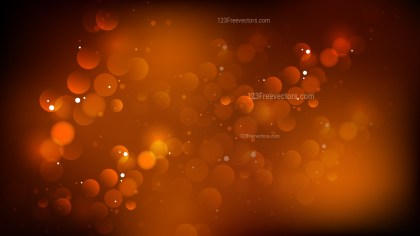Abstract Black and Brown Bokeh Defocused Lights Background
